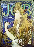 Art Deco Poster Job Cigarettes